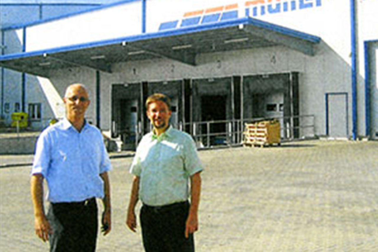 Logistikzentrum geht in Betrieb
