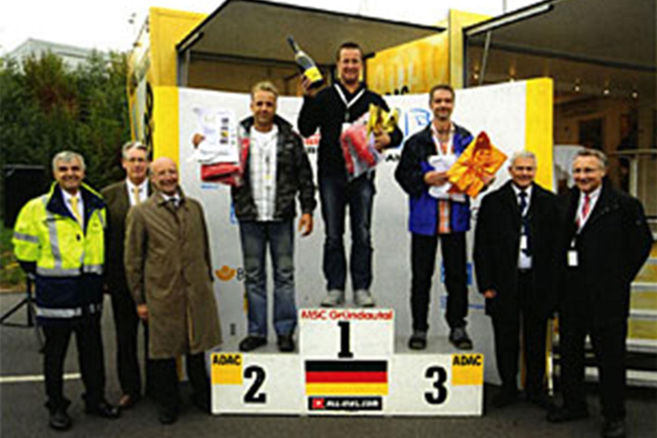 Peter Scherer ist Hessens sicherster Brummifahrer 2009